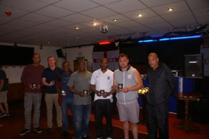 Connect Sports receiving their Division 2 Runners Up medals