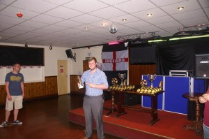 Division 3 Golden Boot  received on behalf of Pete Falconer (Living Hope Church)